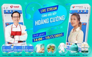 Livestream TAP & Hoàng Cường – Bí quyết lựa chọn phương pháp ăn dặm phù hợp với mỗi gia đình